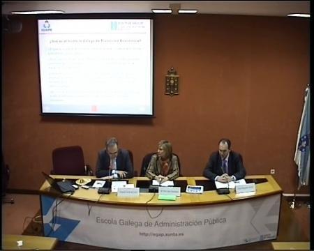 Joaquín Varela de Limia Comingues, Director Xeral do IGAPE - Seminario Desafíos de la Gestión Pública Democrática y las Políticas Públicas en Brasil y la CCAA de Galicia